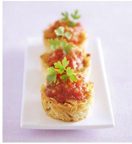 Post image for Tartelettes « angéliques » au chutney de tomate et de datte